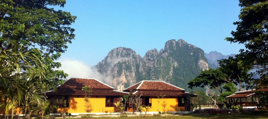 Villa Vang Vieng Riverside Rooms